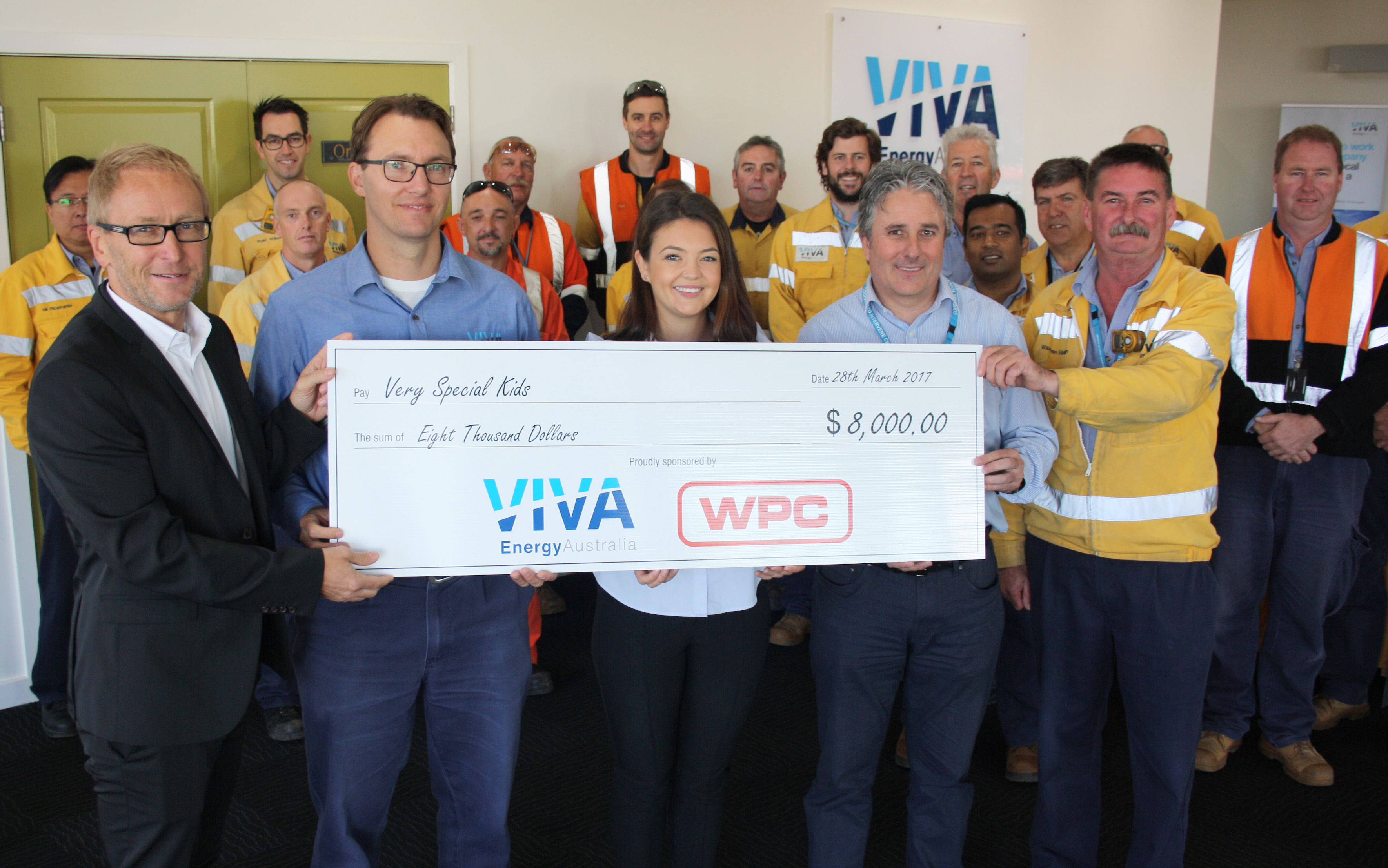 WPC and Viva Geelong in charity event